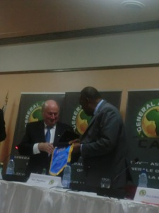 Blatter and Hayatou 6